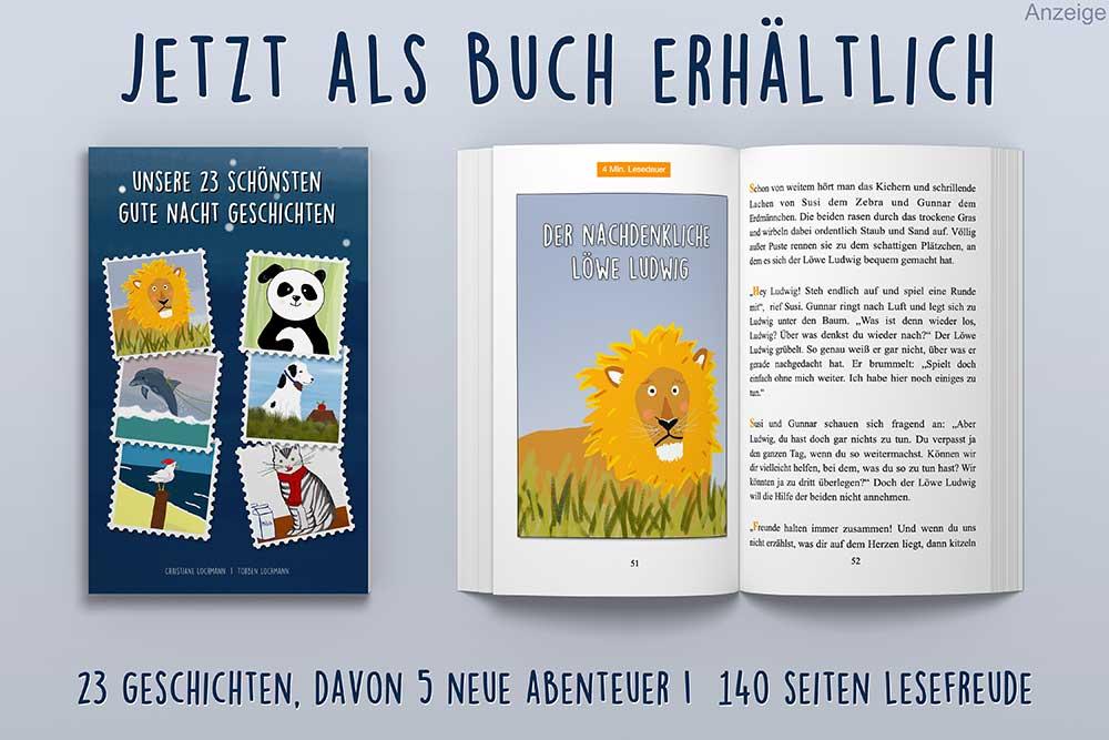 Buch: unsere 23 schönsten Gute Nacht Geschichten
