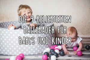 Bällebad für Kinder und Baby