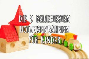 Holzeisenbahn für Kinder