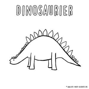 Dino Ausmalbild