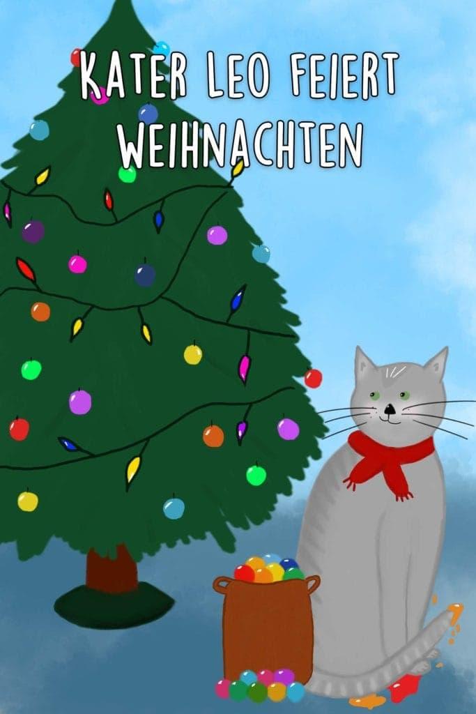 Kater Leo feiert Weihnachten