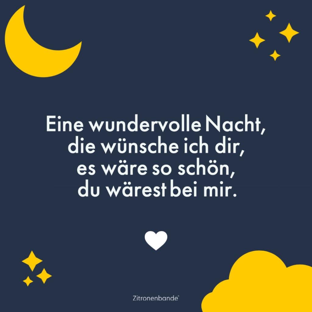 Gute Nacht Spruch 5