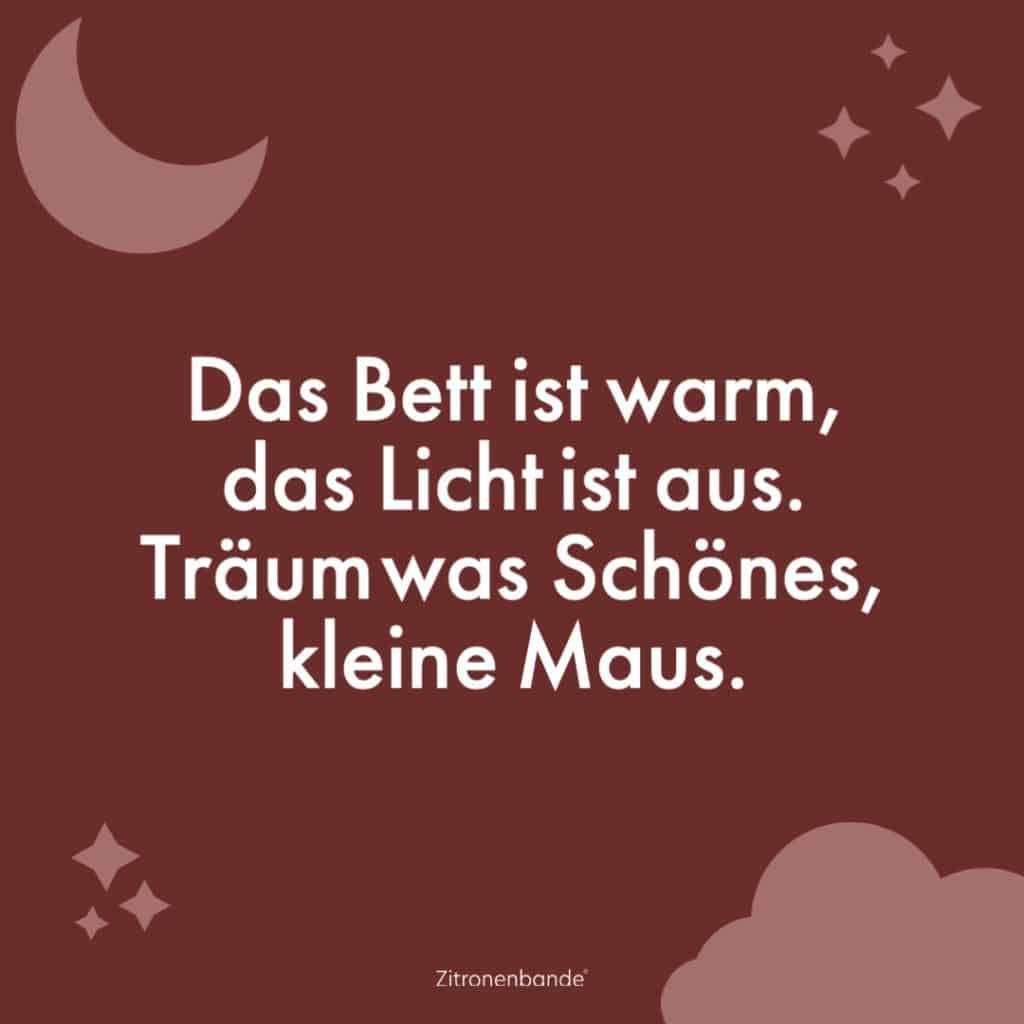 Gute Nacht Sprüche 4