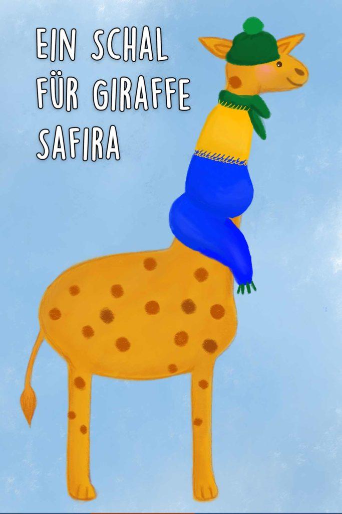 Ein Schal für Giraffe Safira